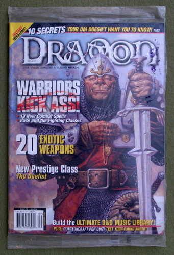 Dragon Magazine, Issue 275