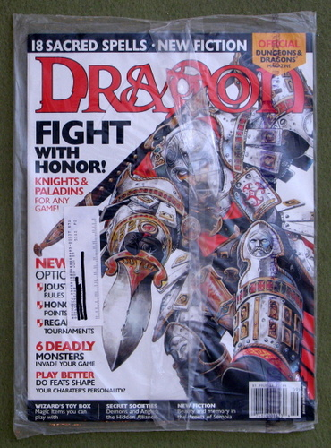 Dragon Magazine, Issue 299