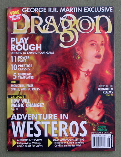 Dragon Magazine, Issue 307 (Game of Thrones Issue)