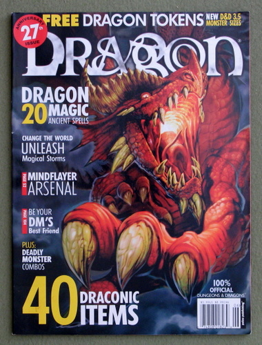 Dragon Magazine, Issue 308