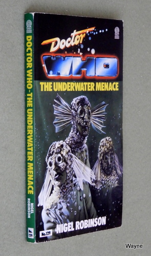 Underwater Menace (Doctor Who), Nigel Robinson