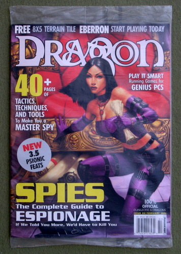 Dragon Magazine, Issue 316