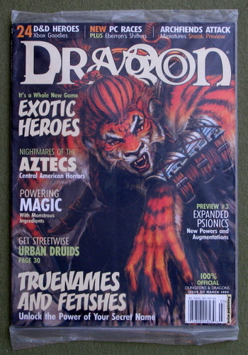 Dragon Magazine, Issue 317