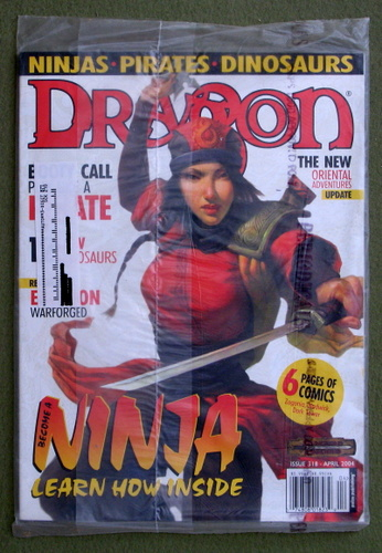 Dragon Magazine, Issue 318