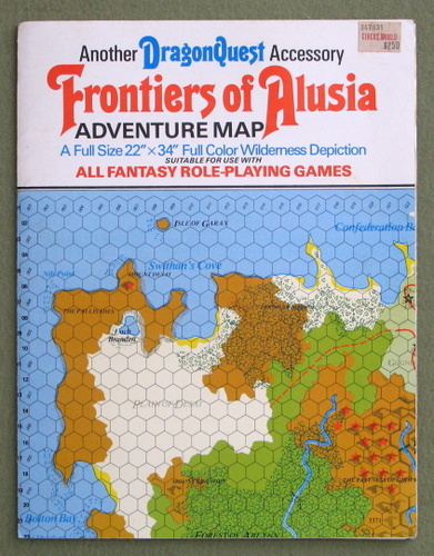 Frontiers of Alusia: Adventure Map (Dragonquest)