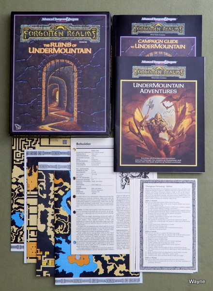 Ruins of Undermountain (Advanced Dungeons & Dragons: Forgotten Realms), Ed Greenwood