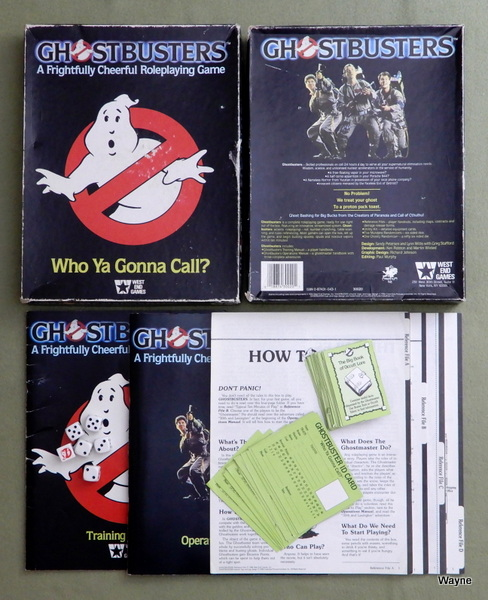Ghostbusters: A Frightfully Cheerful Roleplaying Game - PLAY SET
