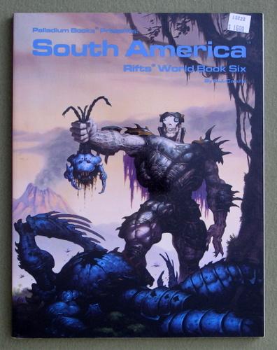 Rifts World Book 6: South America, C.J. Carella