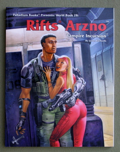 Arzno: Vampire Incursion (Rifts World Book 28), Jason Richards