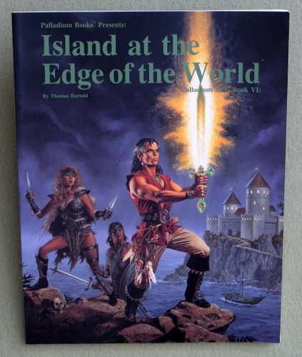 Island at the Edge of the World (Palladium RPG, Book Six), Thomas Bartold