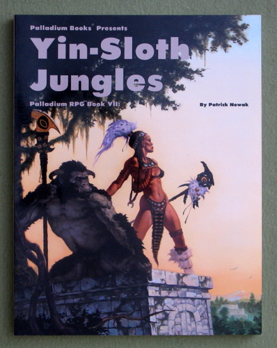 Adventures in the Yin-Sloth Jungles (Palladium Fantasy RPG, Book 7), Patrick Nowak