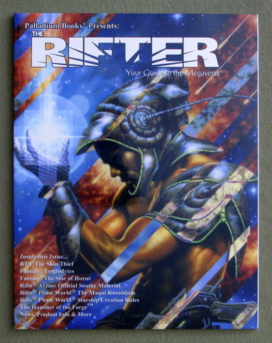 Rifter #34: Your Guide to the Megaverse (Rifts)