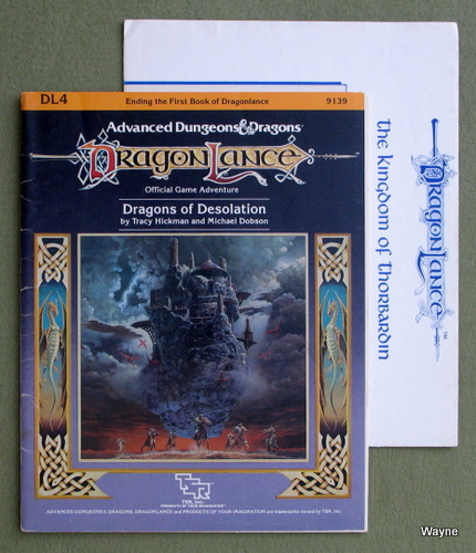 Dragons of Desolation (Advanced Dungeons & Dragons: Dragonlance module DL4), Tracy Hickman & Michael Dobson