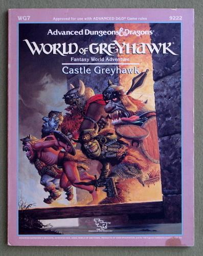 Castle Greyhawk (Advanced Dungeons & Dragons Module WG7)