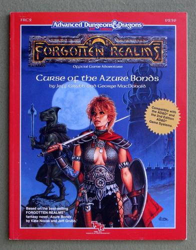 Curse of the Azure Bonds (Advanced Dungeons & Dragons/Forgotten Realms Module FRC2), Jeff Grubb & George MacDonald
