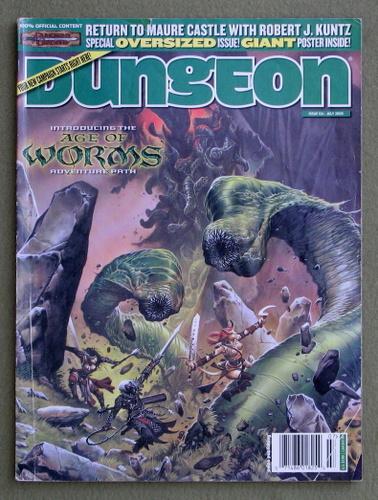 Dungeon Magazine, Issue 124 - NO POSTER