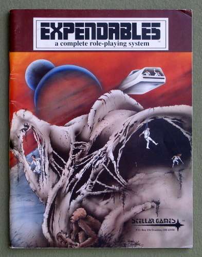 Expendables: A Complete Role Playing System, L. Lee Cerny