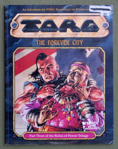 The Forever City (TORG Roleplaying Game), C.J. Tramontana