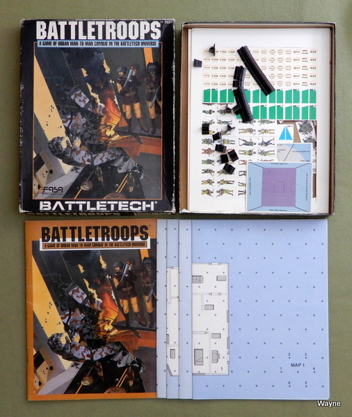 Battletroops: A Game of Urban Man-to-Man Combat in the Battletech Universe