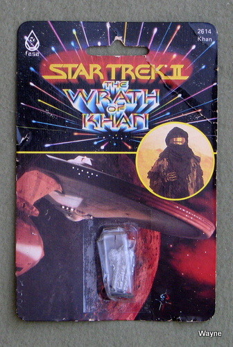 Khan (Ceti Alpha Garb): Metal Miniature (Star Trek II: The Wrath of Khan)