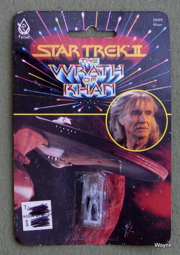 Khan: Metal Miniature (Star Trek II: The Wrath of Khan)