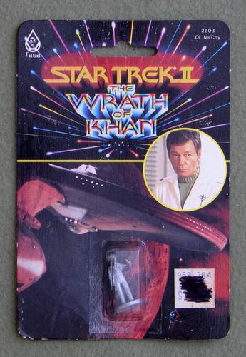 Dr. McCoy: Metal Miniature (Star Trek II: The Wrath of Khan)