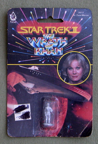 Dr. Carol Marcus: Metal Miniature (Star Trek II: The Wrath of Khan)