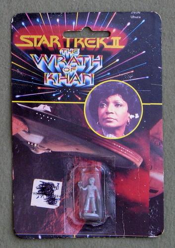 Uhura: Metal Miniature (Star Trek II: The Wrath of Khan)