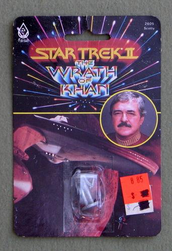 Scotty: Metal Miniature (Star Trek II: The Wrath of Khan)