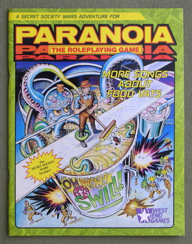 More Songs About Food Vats (Paranoia: The Roleplaying Game), Karl Hughes
