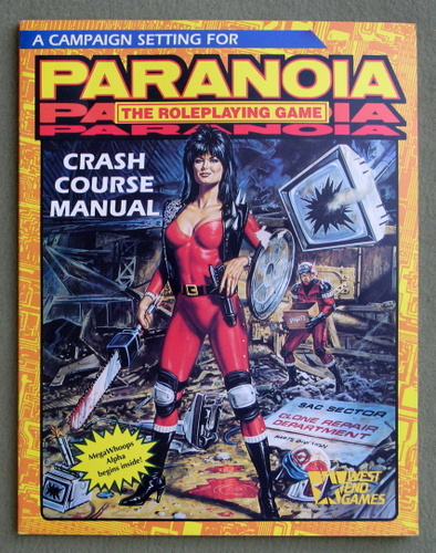 Crash Course Manual (Paranoia: The Roleplaying Game)