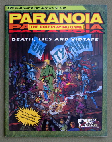 Death, Lies, Vidtape (Paranoia: The Roleplaying Game), Allen Varney