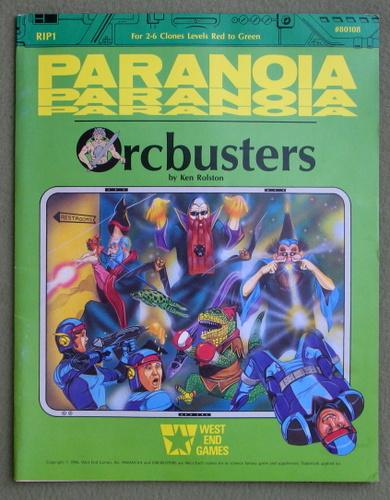 Orcbusters (Paranoia), Ken Rolston