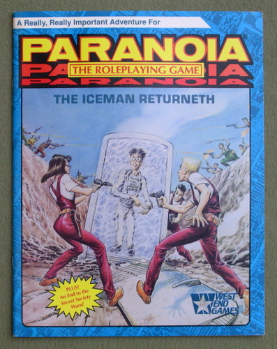 The Iceman Returneth (Paranoia), Sam Shirley