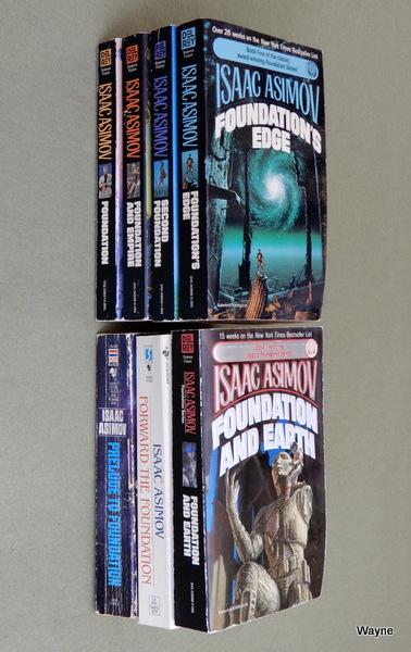 Foundation Series - 7 books, Isaac Asimov
