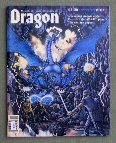 Dragon Magazine, Issue 103