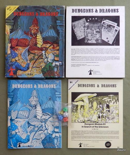 Dungeons and Dragons Basic Set - 4TH+ PRINT, Gary Gygax & Dave Arneson & Eric Holmes (editor)