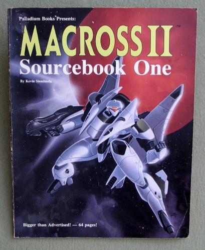 Macross II: Sourcebook One (Robotech RPG), Kevin Siembieda