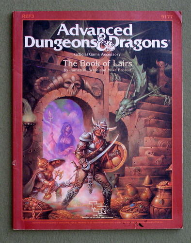 The Book of Lairs (Advanced Dungeons and Dragons Accessory REF3), James Ward & Mike Breault