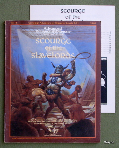 Scourge of the Slavelords Supermodule A1-4 (Advanced Dungeons and Dragons)