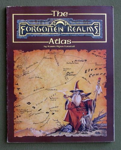 The Forgotten Realms Atlas, Karen Wynn Fonstad
