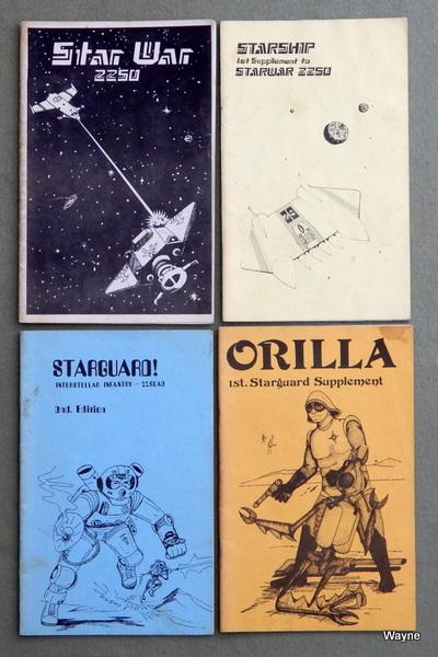 Star War 2250 - Starship - Starguard - Orilla, John McEwan