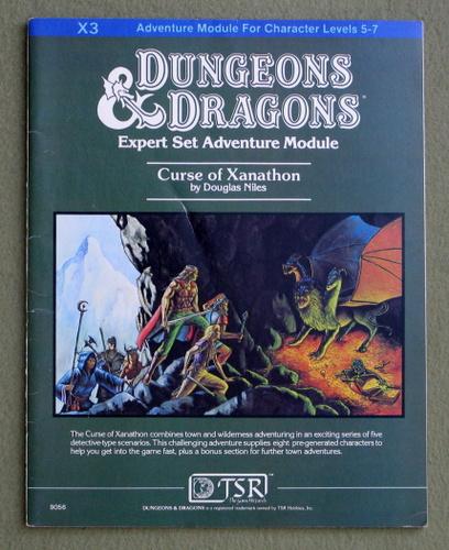 Curse of Xanathon (Dungeons & Dragons Module X3), Douglas Niles