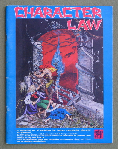 Character Law, 1st Edition (Rolemaster)