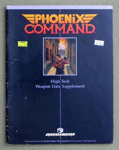 Phoenix Command High-Tech Weapon Data Supplement - PLAY COPY