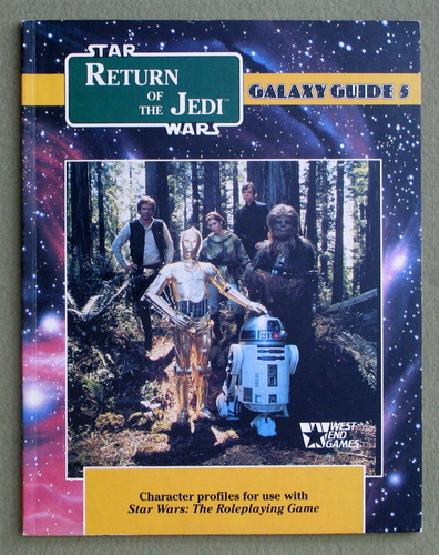 Return of the Jedi (Star Wars RPG: Galaxy Guide No 5), Michael Stern