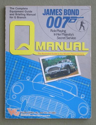 Q Manual (James Bond 007 role playing game), Greg Gorden