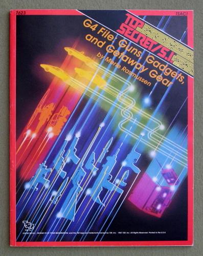 G4 File: Guns Gadgets and Getaway Gear (Top Secret/S.I.), Merle Rasmussen