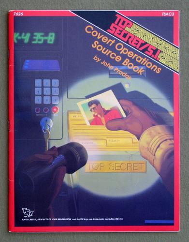 Covert Operations Source Book (Top Secret/S.I. Accessory TSAC3), John Prados