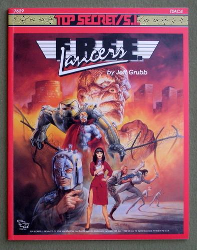 F.R.E.E. Lancers (Top Secret/S.I. Accessory TSAC4), Jeff Grubb